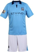 hot 2012 - 2013 manchester city home jersey soccer jersey competition clothing free shipping