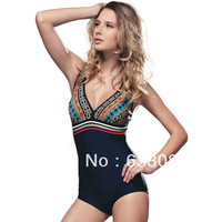 Free shipping women wetsuit women one pieces swimwears hot springs suit Classic Style