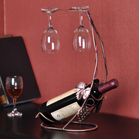 New 2014 wine rack metal wine holder fashion and generous home decoration accessories hot sell free shipping