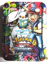 Card pokemon tin game card