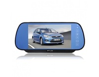"RD770SC4 Rearview Mirror with 7"" TFT and Camera Display Parking Sensor System"