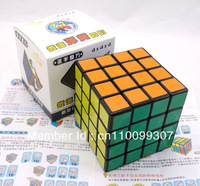 Set of 3x3x3 4x4x4 Shengshou speed magic cube Twist puzzle children gift Black