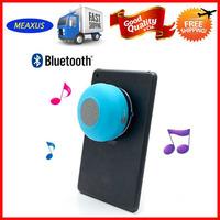 450 Pcs a lot bluetooth shower BTS-06 waterproof speaker for bathroom bluetooth 3.0 speaker