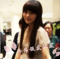 New style Long straight hair wig wigs high temperature wire jafa  free shipping