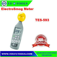 Wholesale TES-593 3 axis electro smog Meter (10MHz to 8.0GHz) EMF Meter