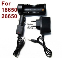 International standard 18650 3.7v Battery charger travel charger + Car charger - Free shipping