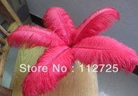 EMS Free Shipping 100pcs/lot Red color 50-55cm 20-22 inches Single Ostrich Feathers Ostrich Plumes Ostrich Drabs fringes