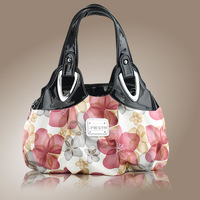 Free Shipping Small bags women's handbag 2013 women's casual bag fashion handbag vintage print tote bag