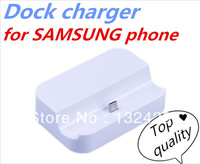 New Sync Cradle Micro USB Dock Charger for Samsung Galaxy S3 SIII i9300 Dock Charger Free Shipping