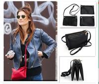 5 COLORS! Designer New Celebrity Favorite Candy Color Trio Bag Detachable 3 Pieces Multi-packet Hot Cross-body Shoulder Bag