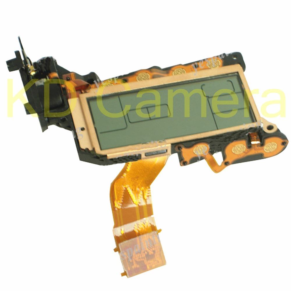 Hongkong Post Free Shipping Small Top LCD Screen Display Assembly Shoulder Screen Unit Replacement For Canon 7D Repair Part(China (Mainland))