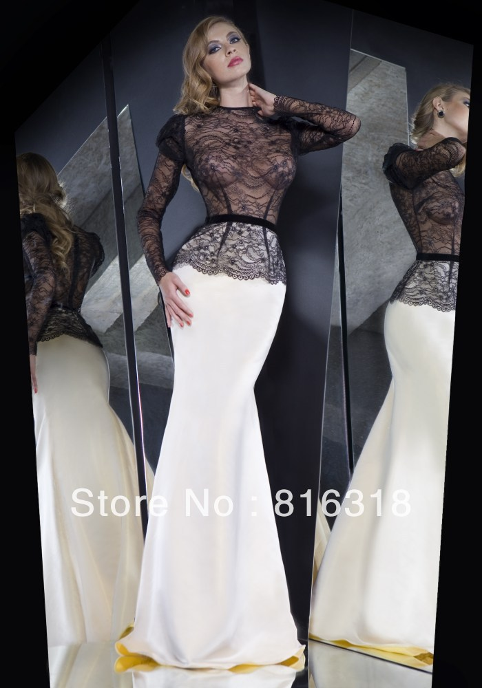 Evening Gowns With Sleeves 2014 Gown Evening Dresses 2014