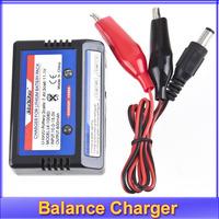 Free shipping +5pcs/lot 7.4v 11.1v LiPo RC Battery AKKU Balance Charger 2s 3s 2-3S 2 CELL