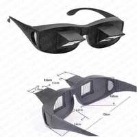 Dropship Upgraded High-definition Horizontal Glasses Lazy Glasses Bed Lie-down Periscope Glasses - Size L (Black)