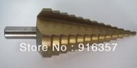 Free Shippping HSS Step Drill Bit Set 4241 Steel  Step Drill Bit--Metric Size 4-39 mm 13 step