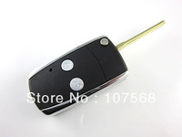TOYOTA REMOTE 2 Button Flip Key Shell Yaris Corolla Camry Avalon Hilux Echo