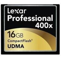 Lexar cf 16g 400x udma slr 5d2 5d 3 7d camera ram card