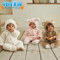 Newborn baby clothes bodysuit jumpsuit animal style romper pack romper winter