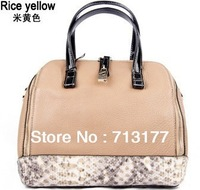 2013 women's fashion handbag women handbag crocodile pattern genuine leather handbag messenger bag luxury handbag free shipping