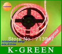 hot sales 20m christmas SMD 5050 RGB LED strip light
