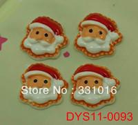STOCK!  30pcs Santa Claus Resin Cabochon Flatbacks Flat Back For Hair Phone Home Decoration Making Craft DIY