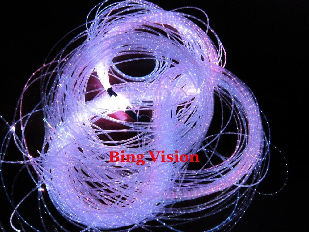 16 color change,mini Christmas fiber optic lighting kit ,3*0.75mm optic fiber cable ,fash/fade/strobe RGB color, waterfall ..(China (Mainland))