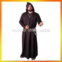 Free Shipping Brown Robe Monk Costumes  AHMC-0230