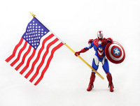 Genuine Man. Iron Man 3 Patriot Tony. 18 cm model. high quality. Cool Man! Free shipping.
