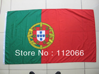 Free shipping 3ft x 5ft Portugal Flag with MOQ at one piece Portugal National Flag polyester material in high quality