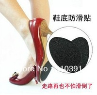 Free shipping Wearproof non-slip outsole pad for shoe sole antislip mat as high heel antiskid sticker lady shoes accessory.