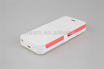 New Arrival 2800mah Battery Case for iPhone 5 5s 5c  case Supporting iOS 7,7.01, 7.02 System
