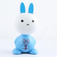 LED light Cartoon Rabbit shipping charge small table lamp table lamp novelty gift ideas lamp LED energy-saving lamps