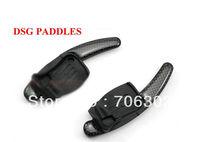 2PCS Brand New Carbon Fiber L/R Steering Wheel DSG Paddles Steering Wheels For VW Volkswagen Golf 6/R/GTI VW2.0T Golf 6 VW R36
