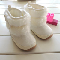 Rubber-soled cotton-padded shoes snow boots warm boots cotton boots toddler shoes single boots 8883b