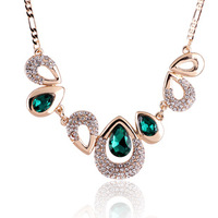 Accessories female short design necklace fashion crystal necklace accessories necklace