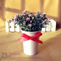 150 exquisite ceramic flower beautiful artificial flower artificial flower rustic home decoration
