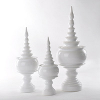 Modern brief white porcelain decoration quality home