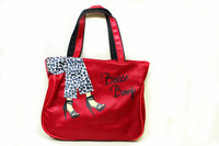 Wholesale MEW 2013 Girls Oxford Bag,Lunch Bags,Handbags,PVC Bag,Size 32*10*24CM,7 Colors,Free Shipping