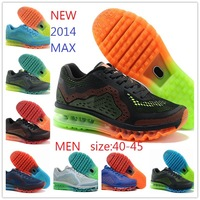 NEW 2014 Brand Air sole running  shoes for MEN ! size 40-45 ! 2013 new design Classical athletics trainers ! free shipping !