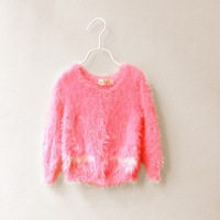 Wholesale--6pcs/lot 2013 New Boutique  Korean Girls Cashmere knitting sweater Maomao knitting cardigan  free shipping