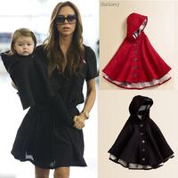 Retail 2013 New ArrivalBrand Baby Christmas Outfit Girl's Warmer Jacket Infant Boy Outerwear Children's Woolen Cloak Windbreaker