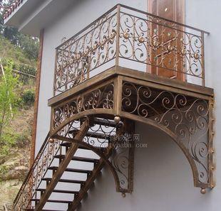 Online kopen wholesale ijzeren hek railing uit china ijzeren hek railing groothandel - Leuning smeedijzeren trap ...