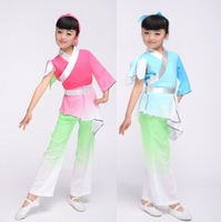 Infant child costume hanfu performance wear