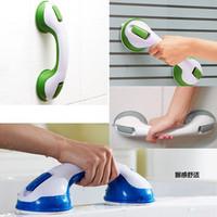 Bathroom slip-resistant armrest bathtub armrest child handle strong suction cup glass door handle