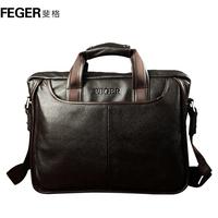 Man bag business casual genuine leather first layer of cowhide shoulder bag messenger bag handbag bag