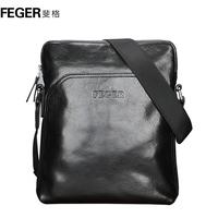 Man bag male shoulder bag first layer of cowhide messenger bag fashion fashionable casual genuine leather backpack bag