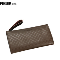 Man bag male clutch cowhide day clutch big capacity commercial clutch bag card holder day clutch bag