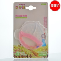 Baby teeth stick baby teethers silica gel teether chews 4 ring gear device