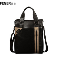 Man bag male commercial briefcase handbag cowhide shoulder bag casual bag messenger bag
