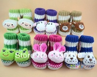 FREE SHIPPING! Hot Sale! Soft-est First Walkers For Babies. No Harm to Baby's Feet.Only 3$/piece.Lovely Animal Pattern.6 Kinds.
